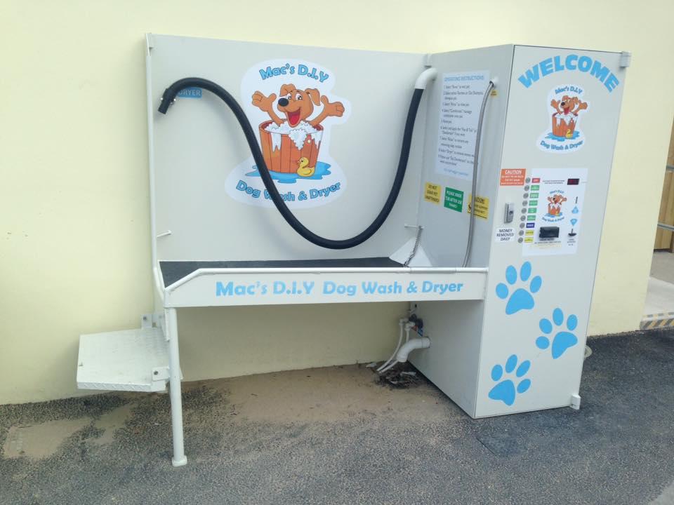perranporth dog wash